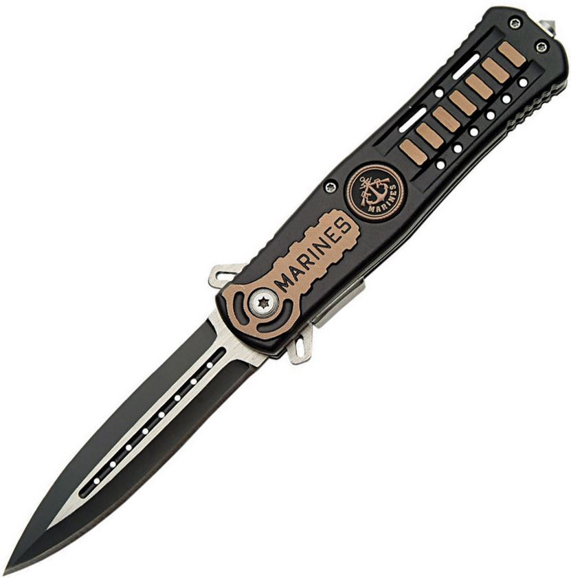 CNM Assisted Opening Linerlock - Marines (Online Only)