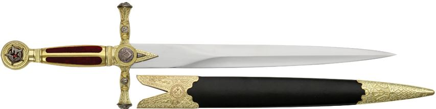 Decorative Masonic Dagger (False Edge)