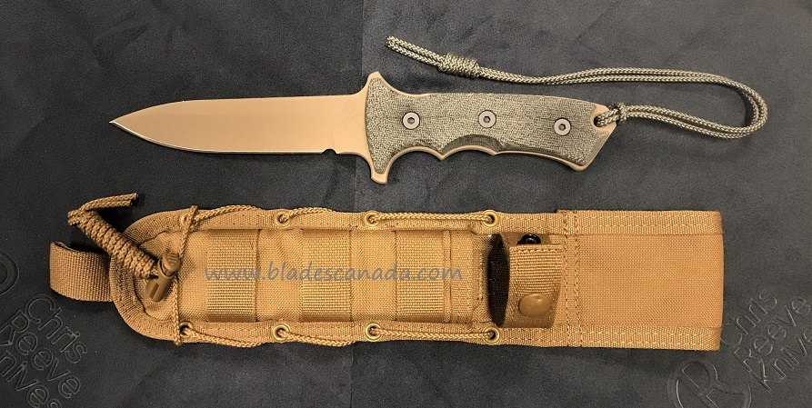 "Chris Reeve Green Beret 5.5"" Plain Edge - Flat Dark Earth"