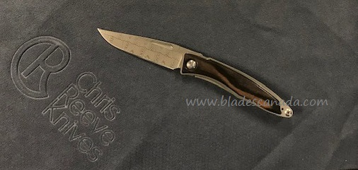 Chris Reeve Mnandi Basketweave Damascus - Macassar Ebony