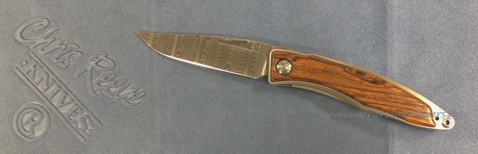 Chris Reeve Mnandi Ladder Damascus - Cocobolo Scales