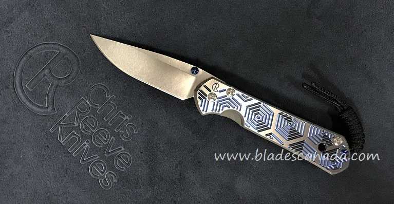 Chris Reeve Small Sebenza 21 - CGG Hex Blue