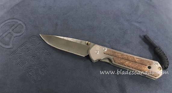 Chris Reeve Small Sebenza 21 Ladder Damascus - Striped Platan