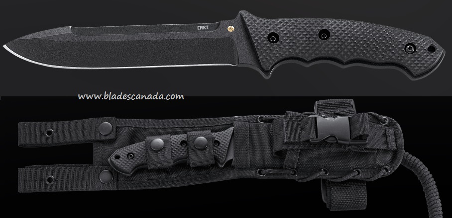 CRKT 2060 F.T.W.S. Black w/Cordura/Zytel Sheath (Online Only)