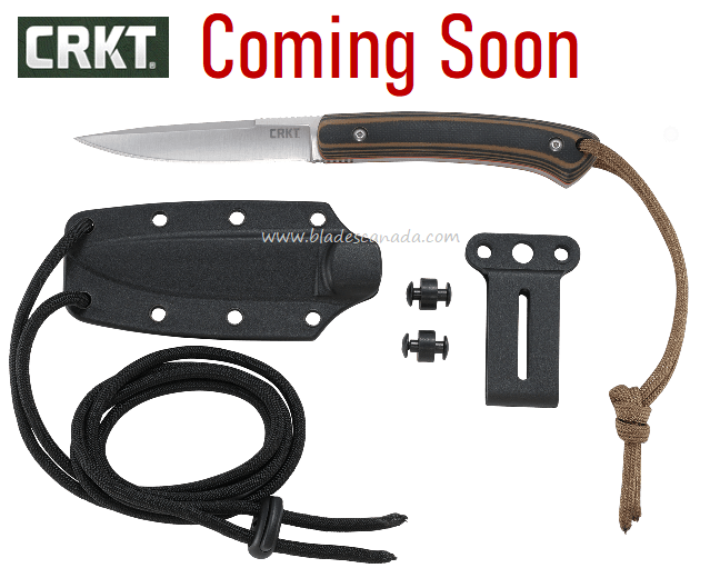 (Coming Soon) CRKT Knives Biwa Knife, G10 Handle, 2382