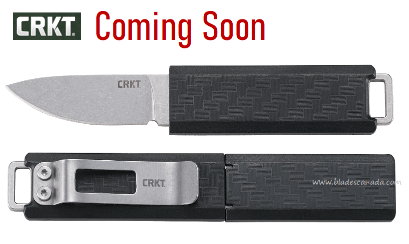 (Coming Soon) CRKT Knives Scribe Compact Fixed Blade, 2425