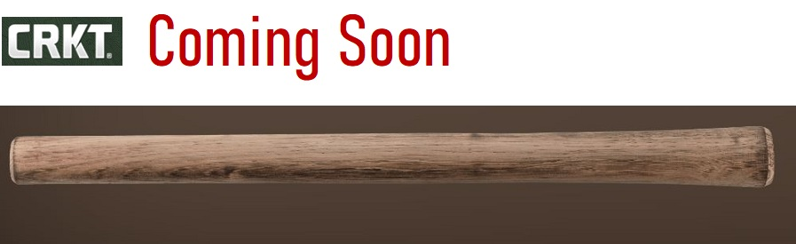 (Coming Soon) CRKT Berserker Axe Replacement Handle, Hickory, 2736-2