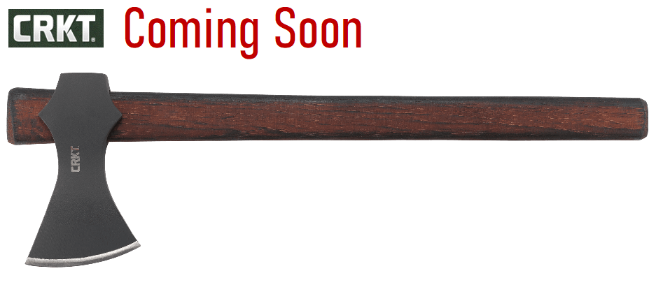 (Coming Soon) CRKT Knives Freya Axe, 1055 Carbon Steel, Tennessee Hickory, 2749