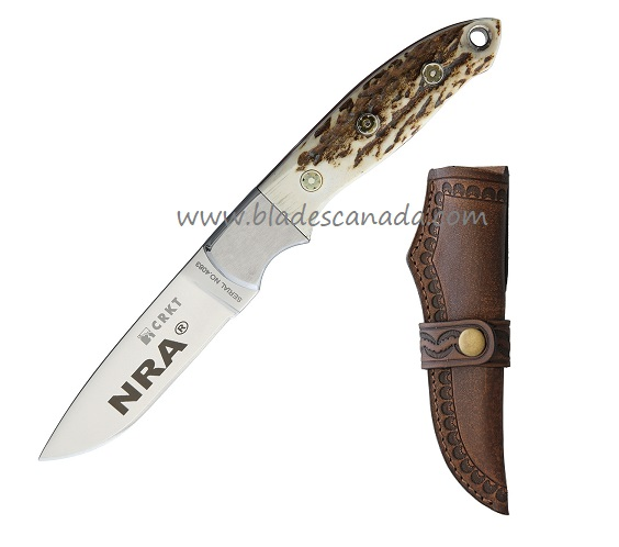 CRKT 2860 Krommer Brow Tine Stag - NRA Edition