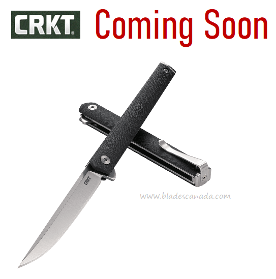 (Coming Soon) CRKT Knives CEO Flipper Folder, 7097
