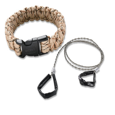 CRKT 9300TL Onion Survival Bracelet Para-Saw