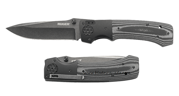 "CRKT R2003K Ruger All-Cylinders +P 5"" Folder (Online Only)"