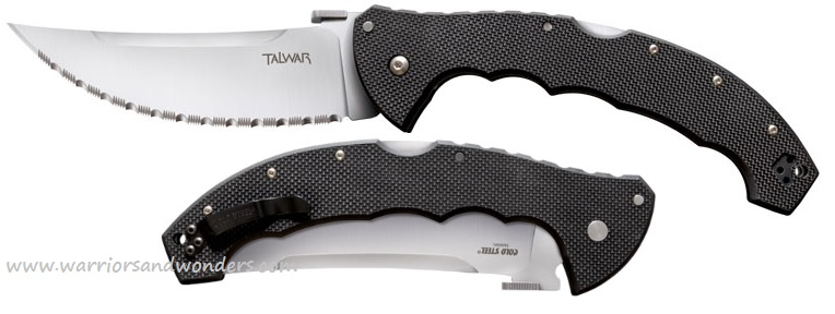 "Cold Steel 21TCTXLS Talwar 5.5"" Serrated CTS XHP (Online Only)"