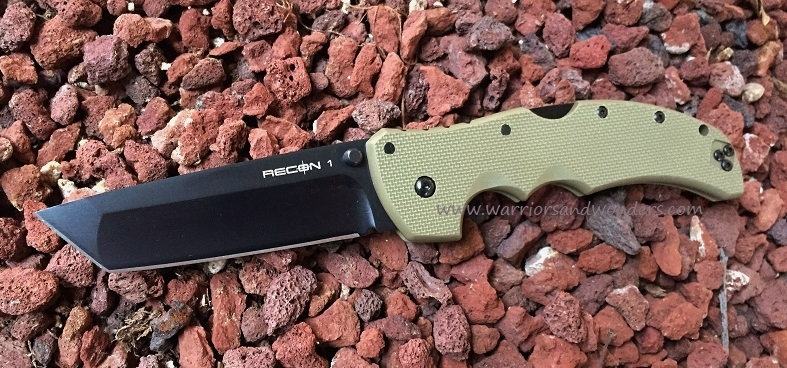 Cold Steel 27TLTVG Recon 1 Tanto CTS XHP OD Green (Online Only)