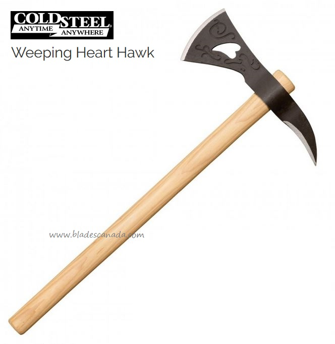 Cold Steel Weeping Heart Hawk, 1055 Carbon, CS90AWH