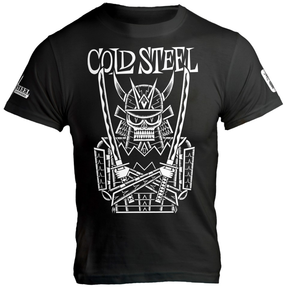 Cold Steel Men's Undead Samurai T-Shirt, Black