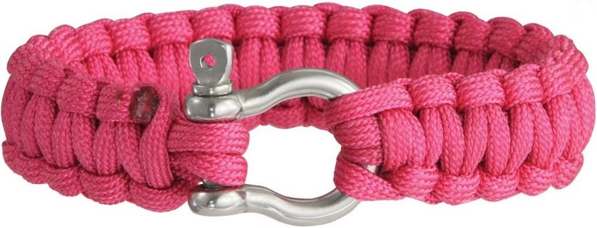 Colt 3024 SPEAR Survival Bracelet - Hot Pink