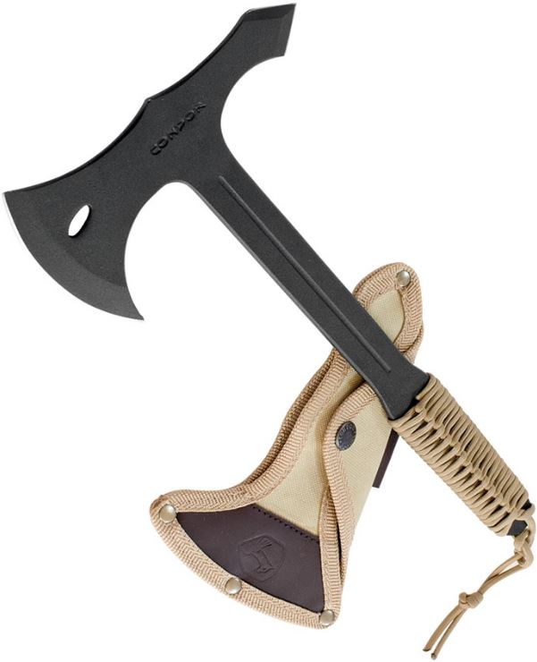 Condor Throwing Axe, 1075 Carbon w/Canvas Sheath, CTK1404-1.4 (Online Only)