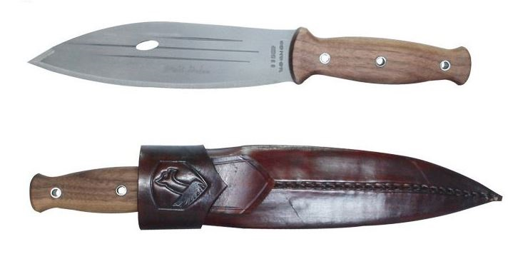 Condor CTK242-8 Primitive Bush Knife w/ Leather Sheath