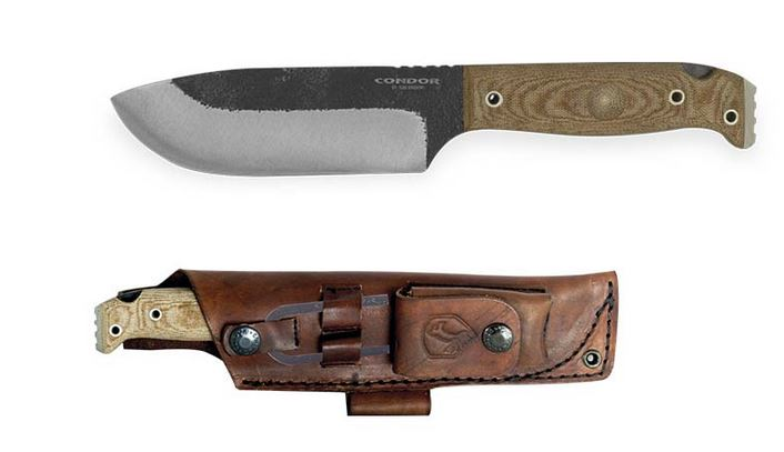 Condor Selknam Knife w/ Leather Sheath CTK3921-5.1HC