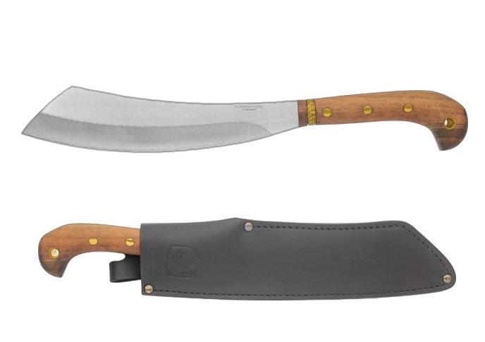 Condor 426-10.5SS Mini Duku Stinaless Machete w/ Leather Sheath