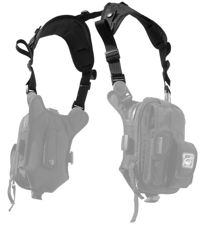 Hazard 4 Covert Anatomic RG Padded Shoulder Harness