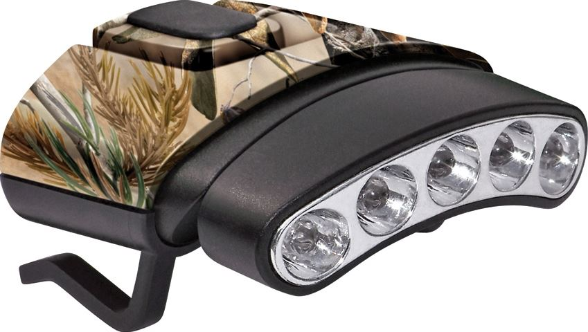 Cyclops Tilt 5 LED Hat Clip Light 7844 - Camo