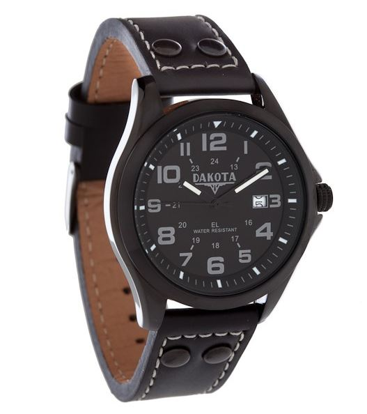 Dakota Watch Company 40244 Stealth EL Watch
