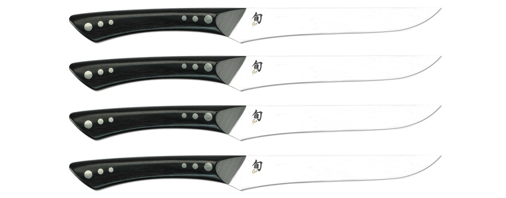 Shun DMS430 Shima Steak Set