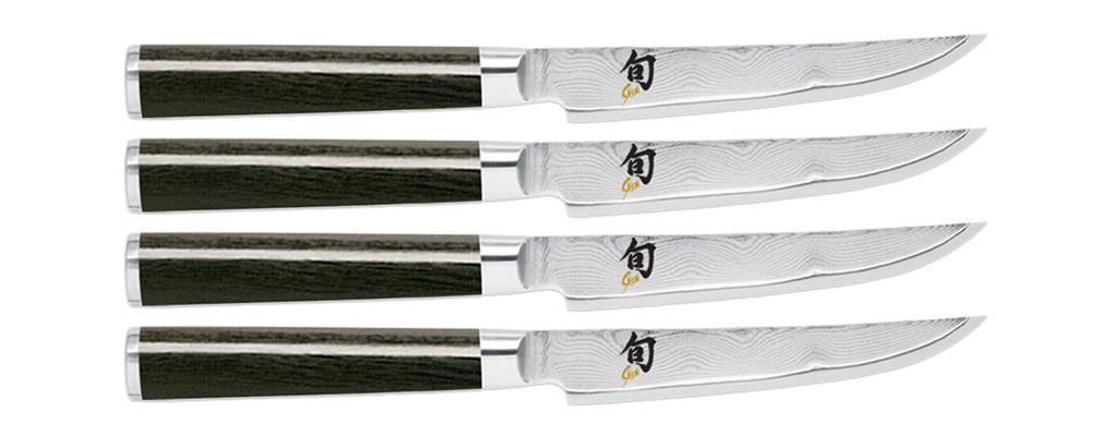 Shun DMS400 Classic 4 Piece Steak Set