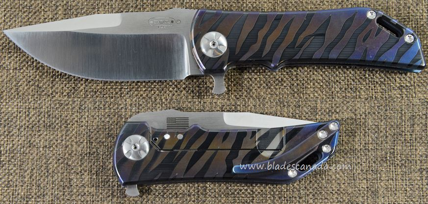 Darrel Ralph DDR 16 Dominator 3.5 Bowie - Blue/Purple Tiger