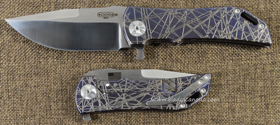 Darrel Ralph DDR 20 Dominator 3.5 Bowie - Purple Ano Circuit