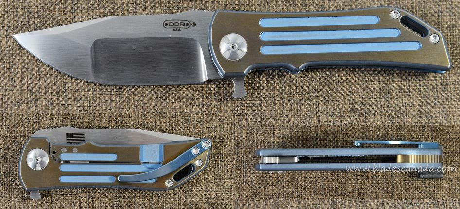 Darrel Ralph DDR 7 Dominator 3.5 Compound - Bronze/Blue Grooves