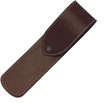 Dovo Straight Razor Leather Pouch - Brown