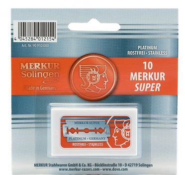 Dovo Merkur 90910 Replacement Blades (10 Pack)