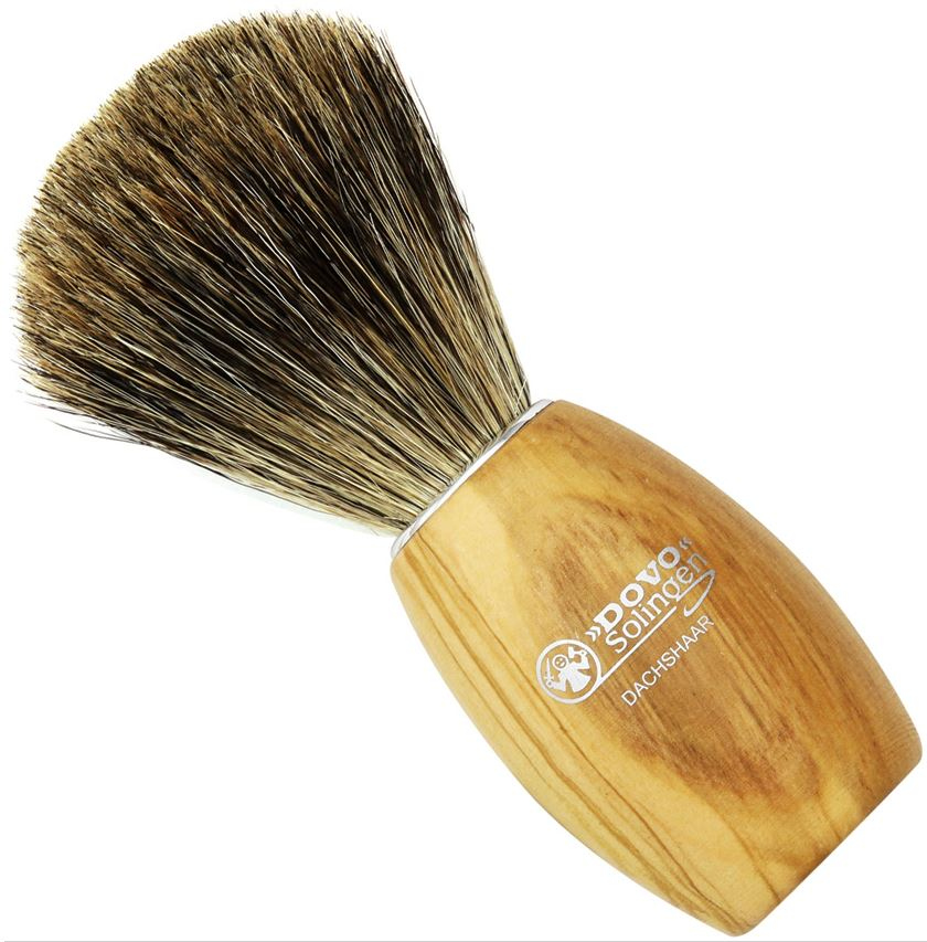 DOVO Shaving Brush - Olive Wood