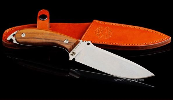 DPX HFX003 HEFT 6 Woodsman - Italian Tan Leather Sheath (Online)