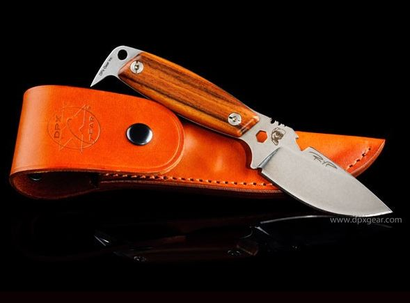 DPX HSX004 HEST II Woodsman - Italian Leather Sheath