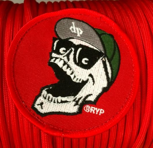 "DPX RDP001 Mr. DP 3"" Velcro Patch - Red"