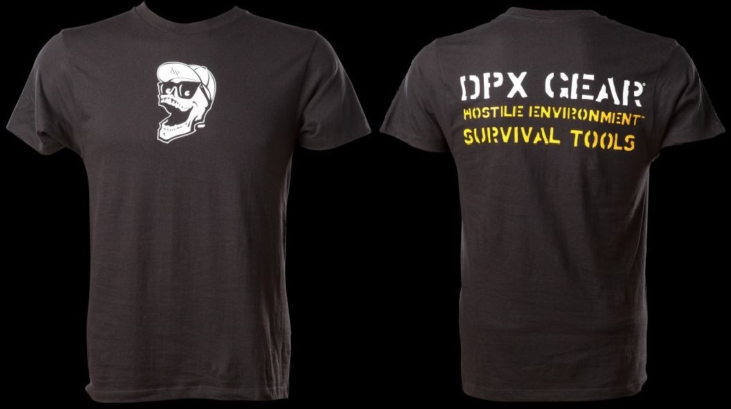 DPX YHT Yellow HEST Tee Mr. DP Logo