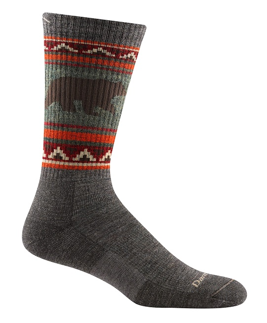 Darn Tough 1980 Vangrizzle Boot Midweight Hiking Sock - Taupe