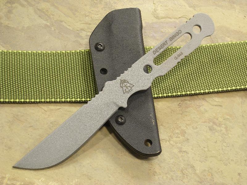 TOPS DTDO01 Desert Dingo w/Kydex Sheath