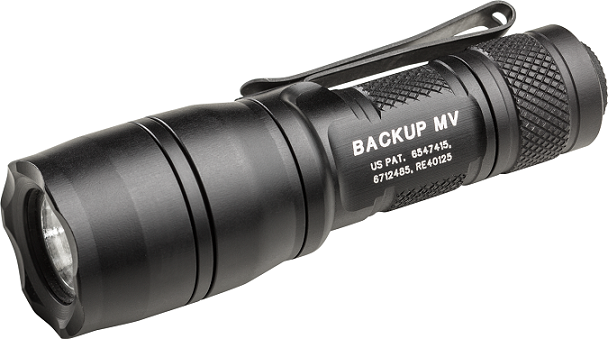 Surefire E1B-MV Backup with MaxVision - 5/ 400 Lumens