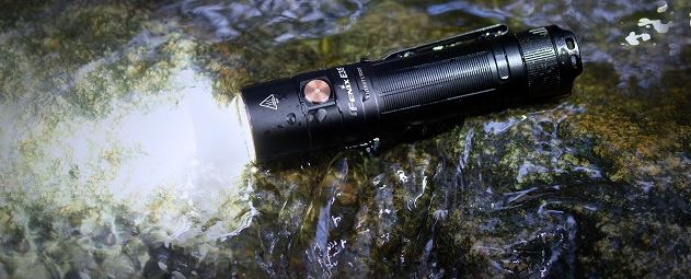 Fenix E35 V3.0 Rechargeable Flashlight - 3000 Lumens