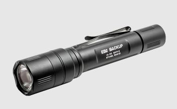 Surefire EB2 Backup 5/500 Lumens, Click Switch - Black