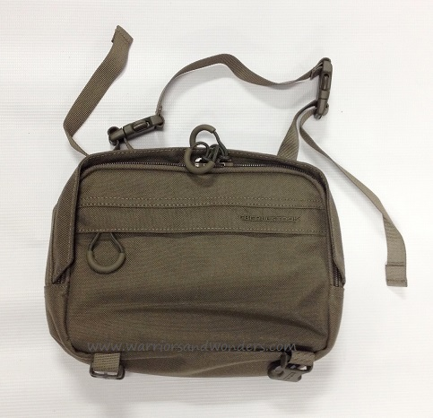 Eberlestock Padded Accessory Pouch Large - Military Green