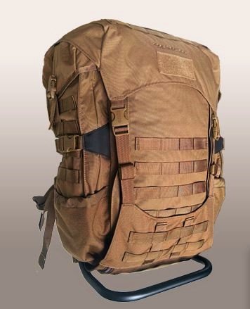 Eberlestock Jackhammer Pack with Intex II Frame - Coyote Brown