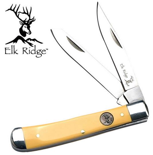 Elk Ridge ER220MY Trapper Medium - Yellow (Online Only)
