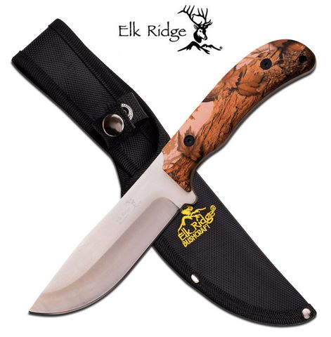 Elk Ridge ER543BC Bushcraft - Brown Woods Camo (Online Only)