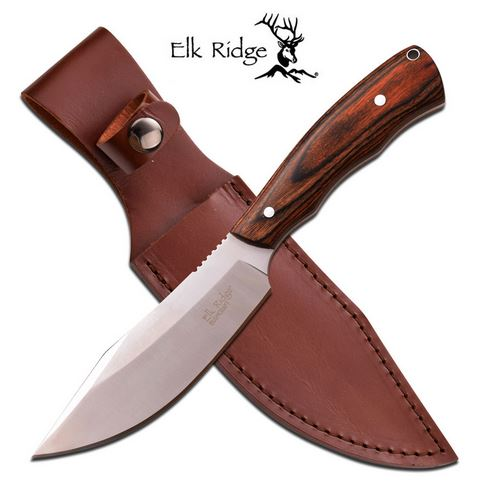 Elk Ridge ER550DW Bushcraft Hunter - Brown Wood (Online Only)